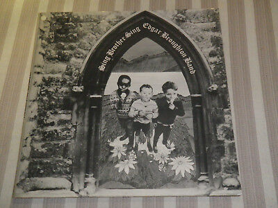 "EDGAR BROUGHTON BAND: Sing Brother Sing,+ INSERT, ORG UK 1st PRESS, 12""/LP, MINT"