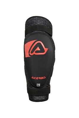 2018 Acerbis Pro 3.0 Elbow Guards Motocross Enduro Junior Youth Black/red