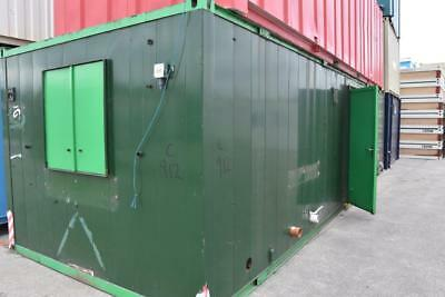 32′ x 10' Portable Building - Anti-Vandal Toilet and Shower Block