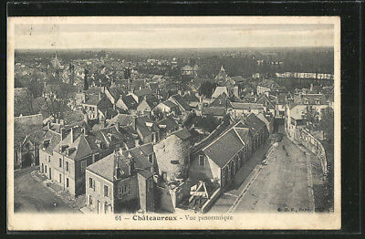 CPA Chateauroux, Vue panoramique
