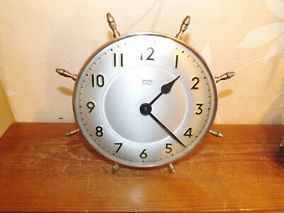 Smiths 4 Jewels          Eight Day Vintage Clock