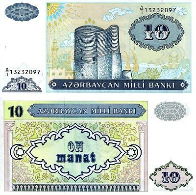 TURKMENISTAN 1 Manat Banknote World Paper Money UNC Currency Pick p29b Bill Note