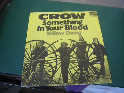 Crow / Something in your Blood / 7 Inch /
