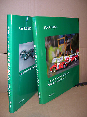 """SLOT CLASSIC 2 books """"Collector's Guide Part I"""" & """"Collector's Guide Part II"""" !"""