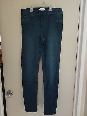 Womens jeggings size 10 H&M Blue