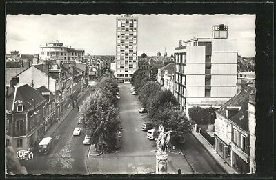 CPA Chateauroux, Place Gambetta 1967