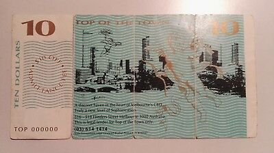 """Australian $10 """"Top of the Town"""" Brothel $10 note"""