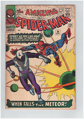 Amazing Spider-Man # 36 Marvel May 1966 High Grade Comic