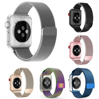 Milanese Magnetic Loop Stainless Strap iWatch Band For Apple Watch 4 38/42mm