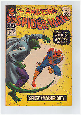 Amazing Spider-Man # 45 Marvel February 1967 High Grade