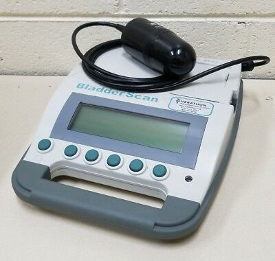 Verathon Model BVI 3000 BladderScan 0570-0090 w/ Probe & Battery - Untested -