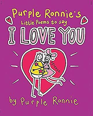 Purple Ronnies Little Book of Poems to Say I Love You, Andreae, Giles, Used; Goo