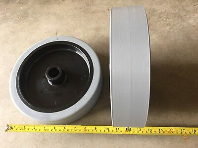 Brand New Set Of Rear Drive Wheels For Rider Floor Scrubber OEM # 9099691000