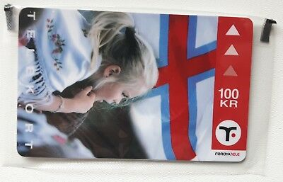 Faroe Island Flag , mint in blister
