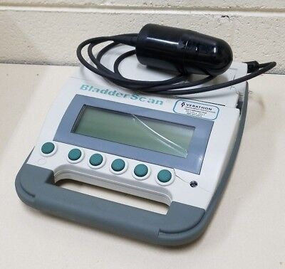 Verathon Model BVI 3000 0570-0090 BladderScan w/ Probe & Battery - For Parts -