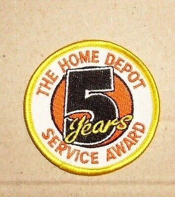 Home Depot Patch - 5 Years Service Award