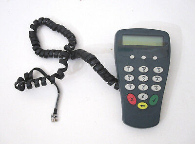 Preowned Hypercom P1300 PINpad Pin Pad POS Credit Card Keypad Terminal AS-IS