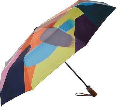 Anuschka Printed Foldable and Compact Umbrella, Painterly Palette 3100-PLT
