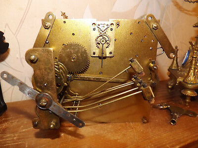 Hac Westminster Shime 5 Hammers Movement With Platform Escapement And Gong