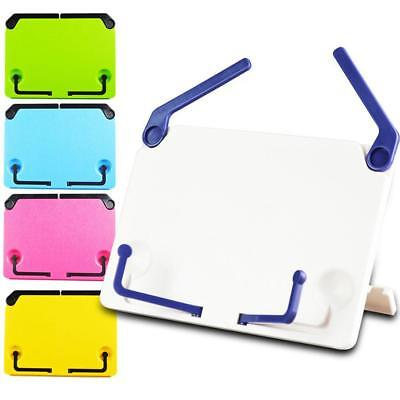 Portable Folding Tablet Bookend Stand Reading Holder Desk Accessory BN