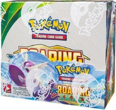 Pokemon XY ROARING SKIES Factory Sealed Booster Box w/36 packs - FAST SHIPPING