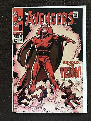 Avengers #57 FIRST APP THE VISION!! INFINITY WAR! FANTASTIC CONDITION