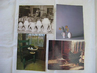 MACKENZIE CHILDS POST CARD set of 4 Poster Picture Decor for Frame