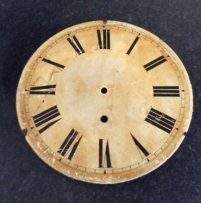 Antique Wall Clock Dial