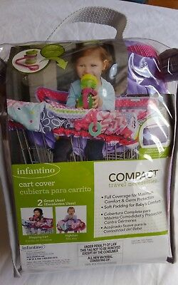 Infantino High Chair Grocery Shopping Cart Cover Baby Toddlers Germ Protection