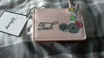 Primark Disney Pink Tinkerbell  Coin Purse/wallet New