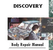Land Rover Discovery Body Repair Manual 1995 - 04
