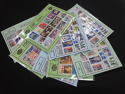 Benin 300 Stamps Different