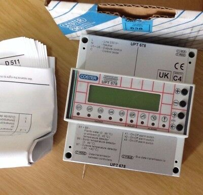 Coster Programming Unit For Heating Zones And Boiler Upt678