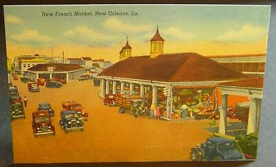 Vintage Linen New French Market, New Orleans, Louisiana Unused (PC30)