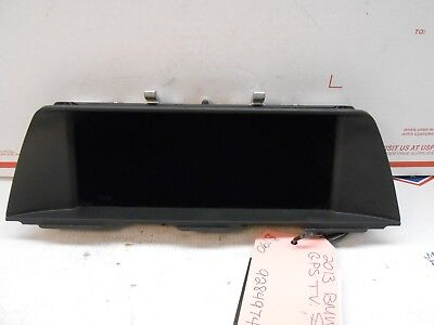 2013 BMW 535i GPS TV SCREEN 9284974 RH0176