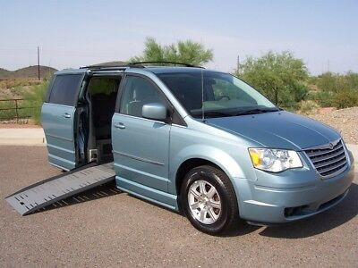 2009 Chrysler Town & Country Touring Wheelchair Handicap Mobility Van 2009 Chrysler Town & Country Touring Wheelchair Handicap Mobility Van Low Miles