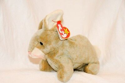 RARE TY Beanie Baby Babies Bear NIBBLY rabbit NEW Collectible ERRORS