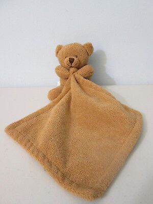 Blankets And Beyond Brown Bear Security Blanket Lovey Plush Stuffed Animal Baby
