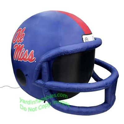 "4' NCAA Mississippi ""Ole Miss"" Rebels Inflatable Helmet"