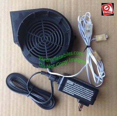 Gemmy Replacement 1.5a FAN...  With 12v/1.5a Adapter