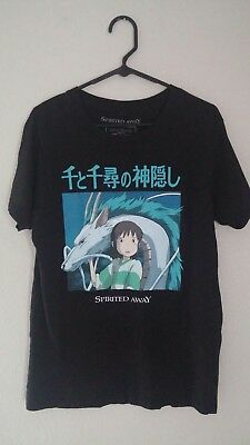 Studio Ghibli Spirited Away Shirt Chihiro and Haku