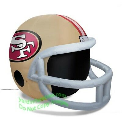 4' NFL San Francisco 49ers Team Inflatable Helmet