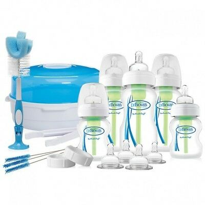 Dr Brown's: Options Natural Flow Gift Set - New Born