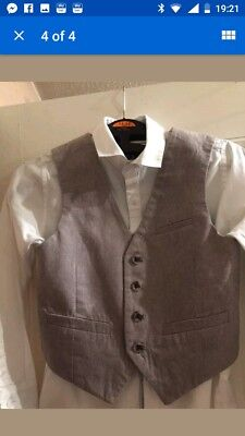 Boys grey 3 piece suit