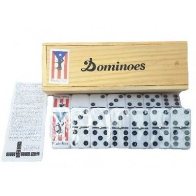Puerto Rico Rican Flag & Horse Double Six Dominos & Dominoes