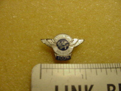 Vintage Wwii Curtis Wright Aircraft Sterling 100% Production Soldier Award Pin