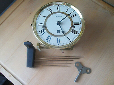 Westminster chimes German Hermle wall clock movement working