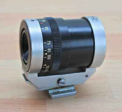 TEWE GERMANY POLYFOCUS ZOOM VIEWFINDER FOR LEICA/CONTAX ETC. 35mm - 200mm.