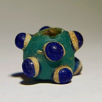 Ancient Roman Mosaic Glass Eye Bead. 200 BC -  200 AD