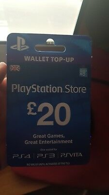 Psn 20 Gbp Uk Store Key - Berkshireregion